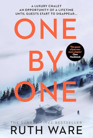 One by One by Ruth Ware crime novel