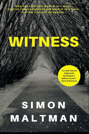 Witness by Simon Maltman front cover